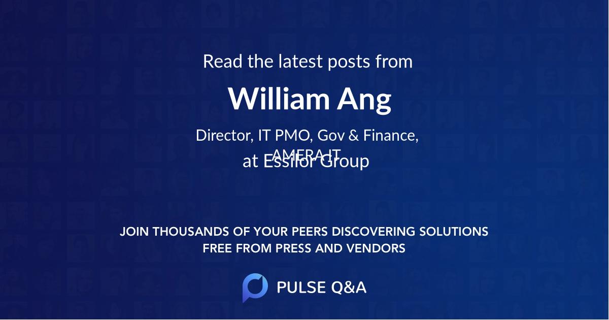 William Ang