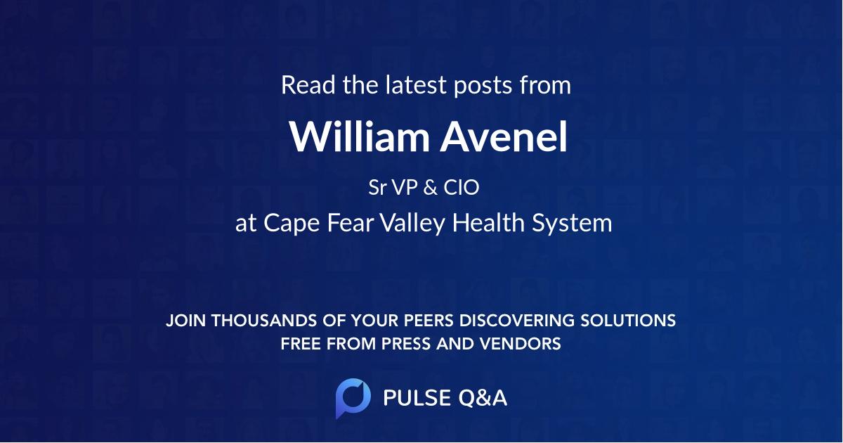 William Avenel