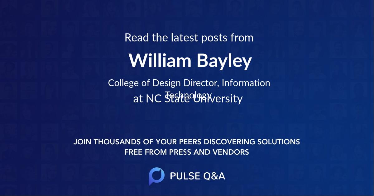 William Bayley