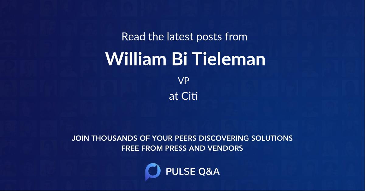 William Bi Tieleman