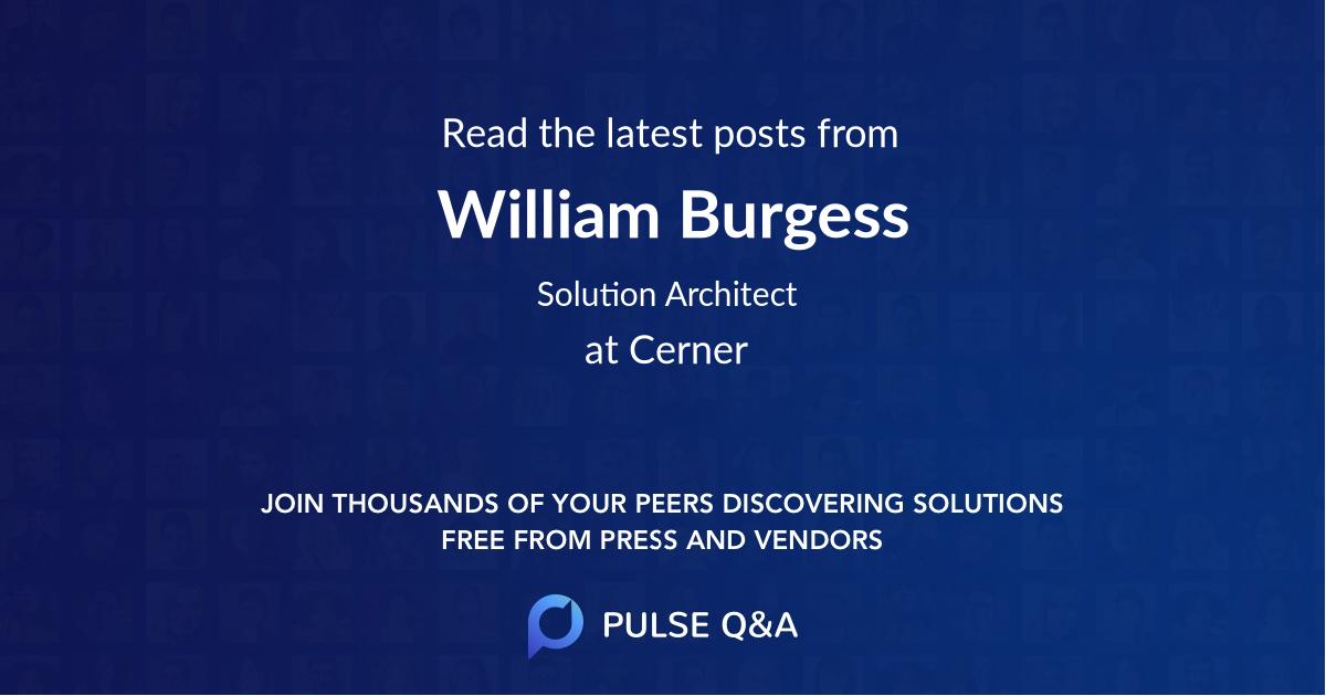 William Burgess