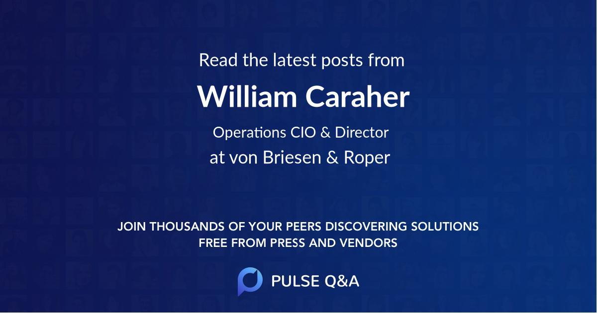 William Caraher