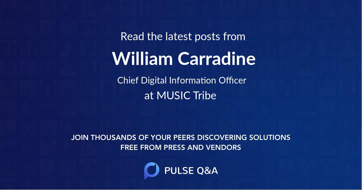 William Carradine