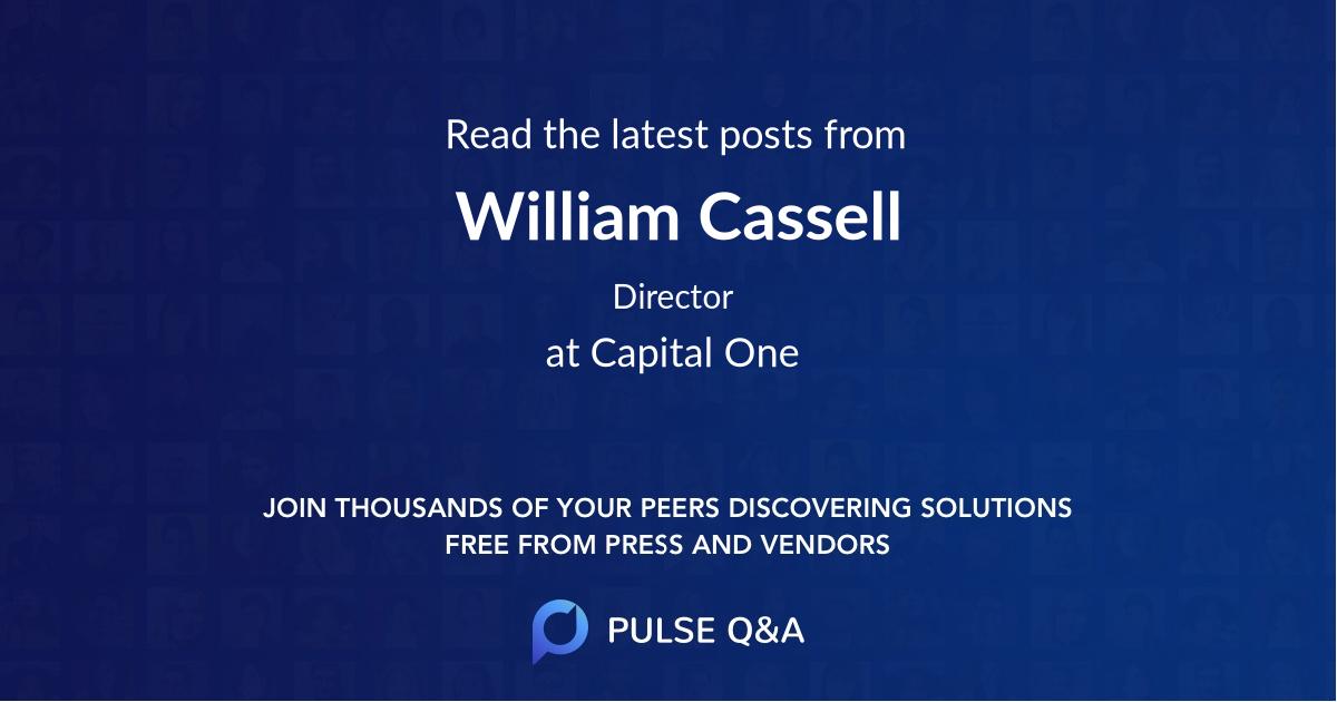 William Cassell