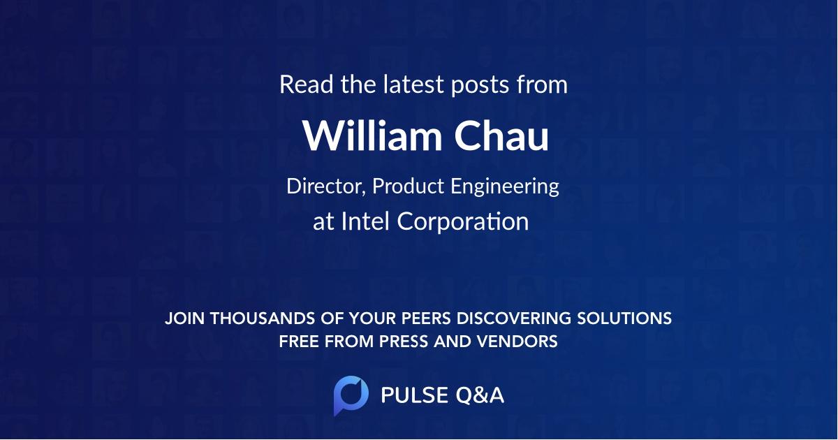 William Chau