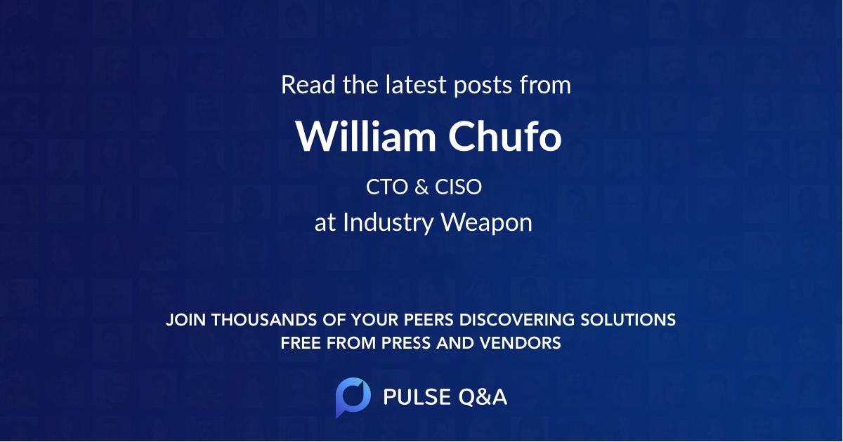 William Chufo