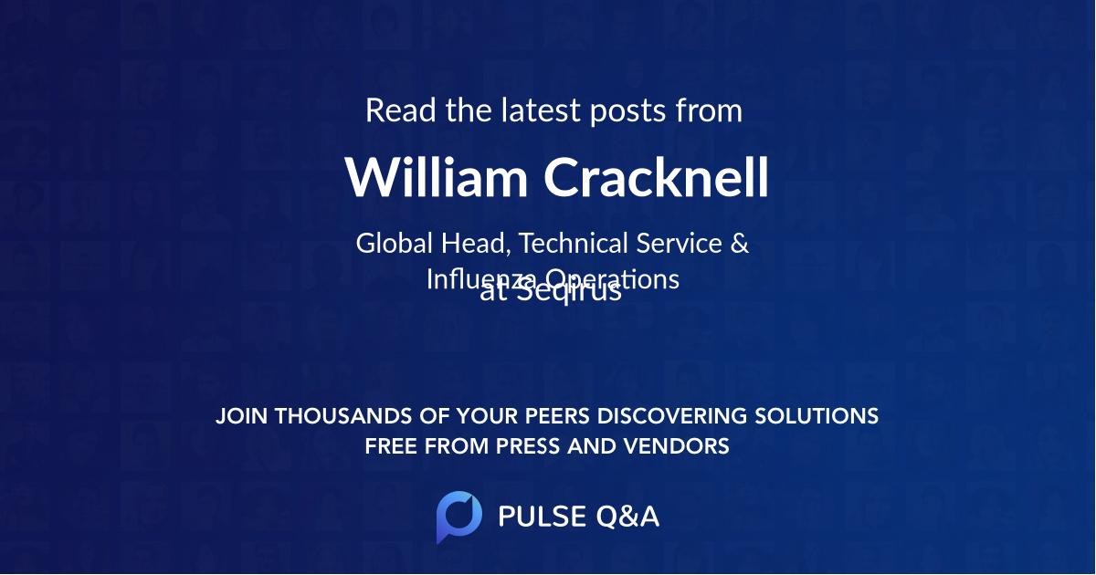 William Cracknell