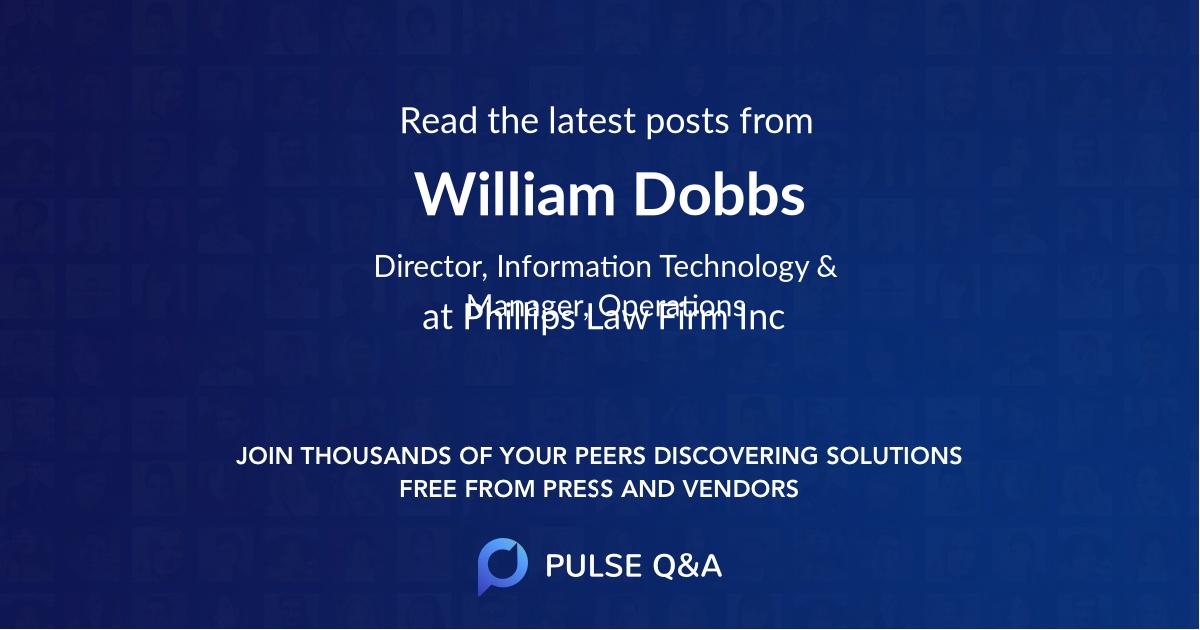 William Dobbs