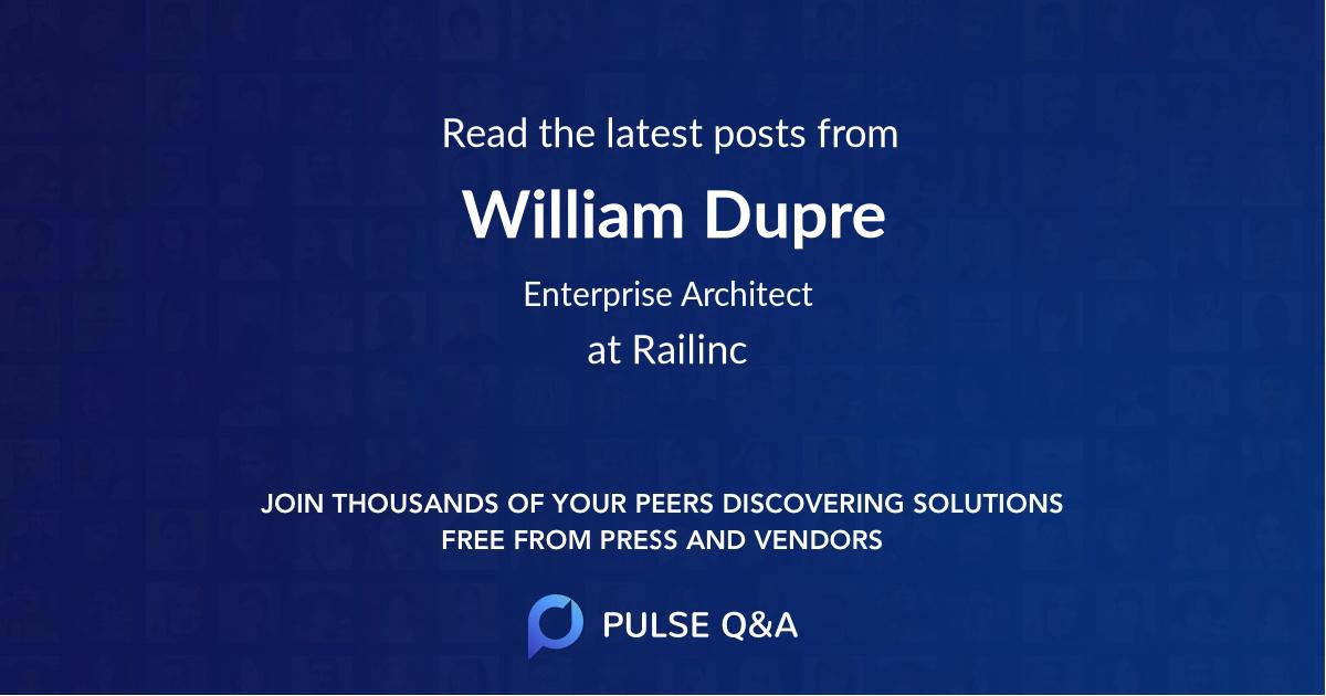 William Dupre