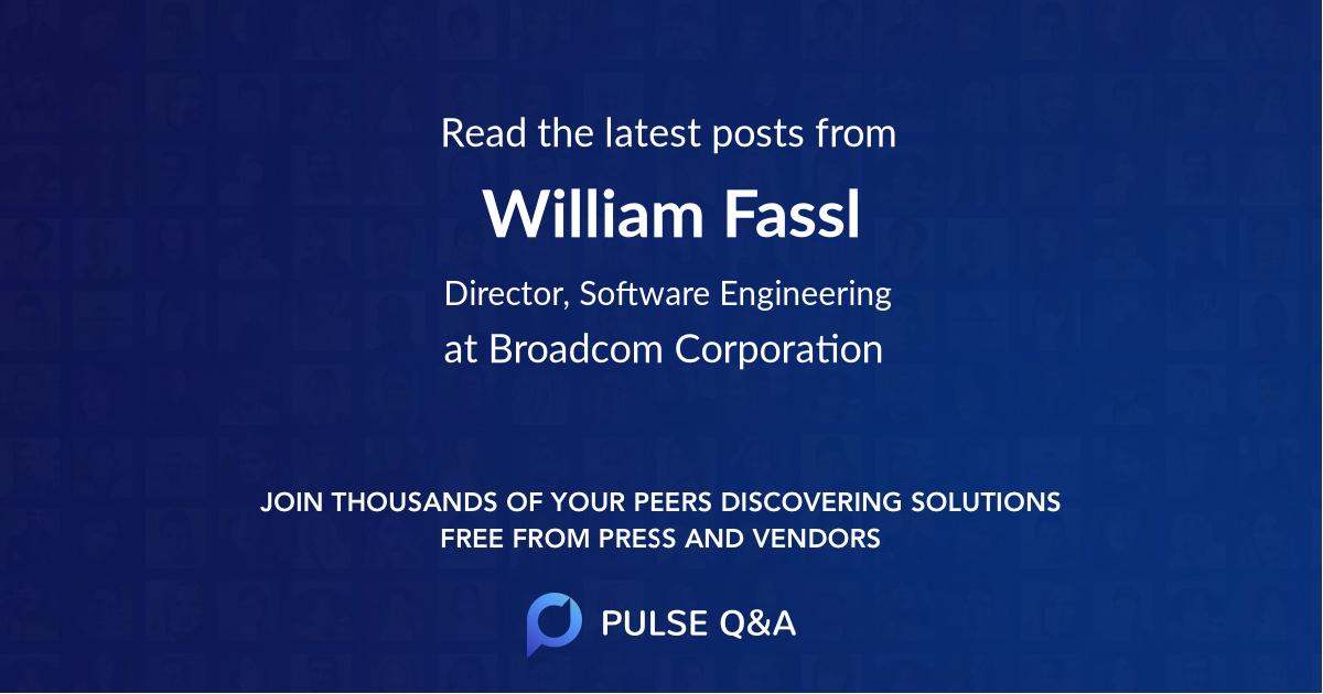 William Fassl