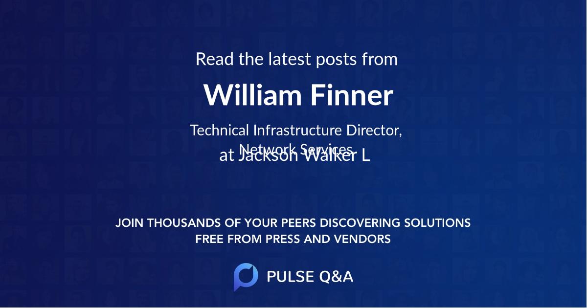 William Finner