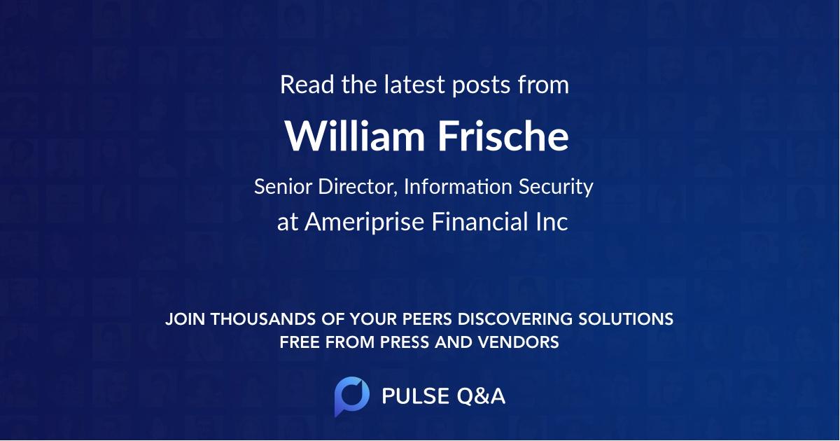 William Frische