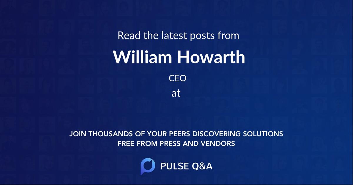 William Howarth
