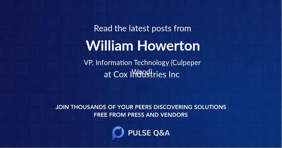 William Howerton