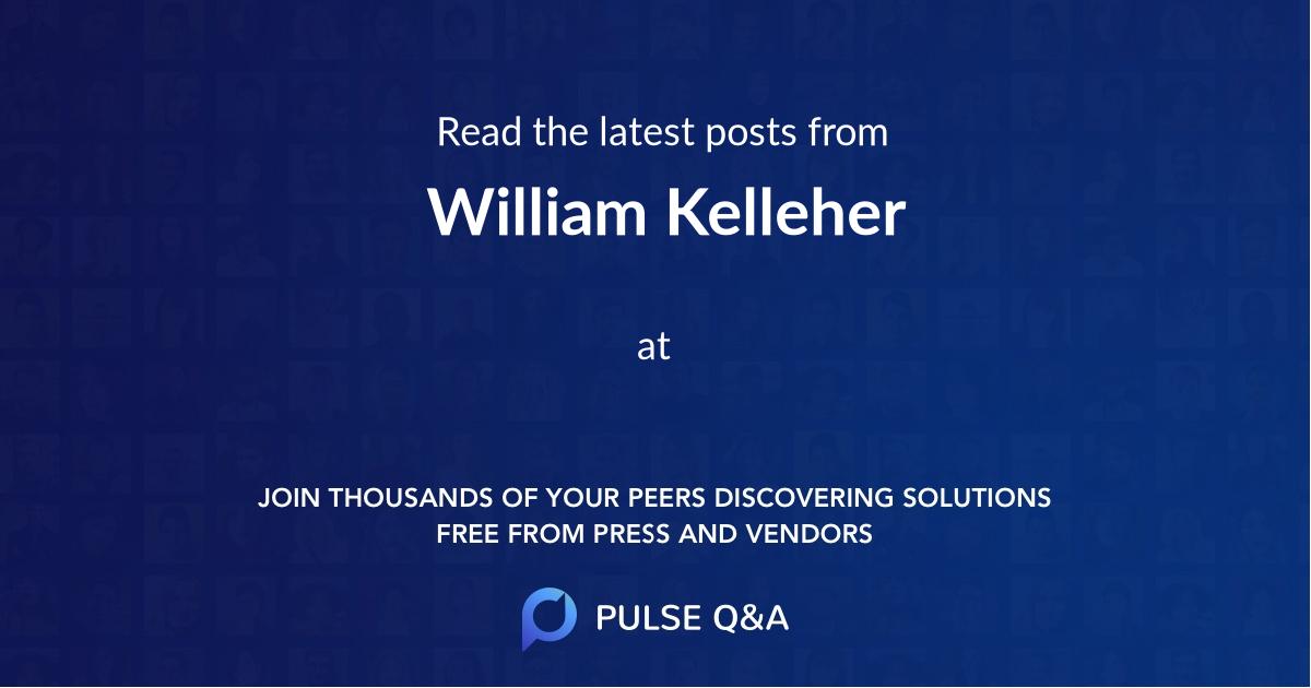 William Kelleher