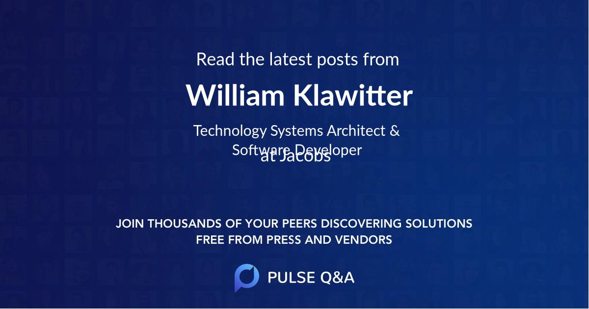 William Klawitter
