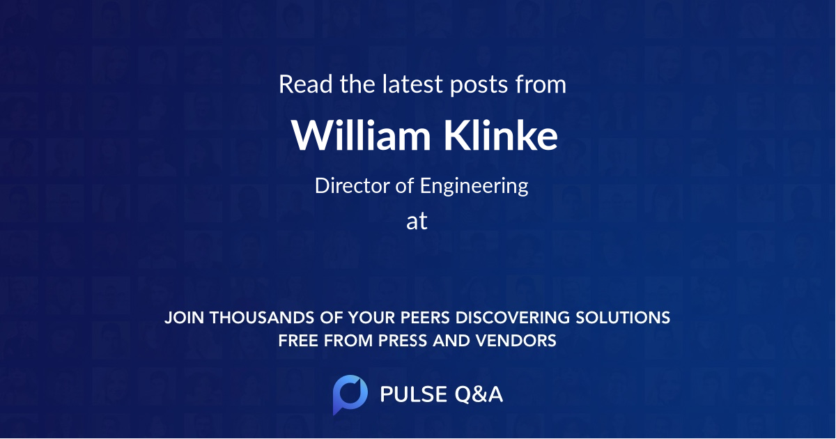 William Klinke