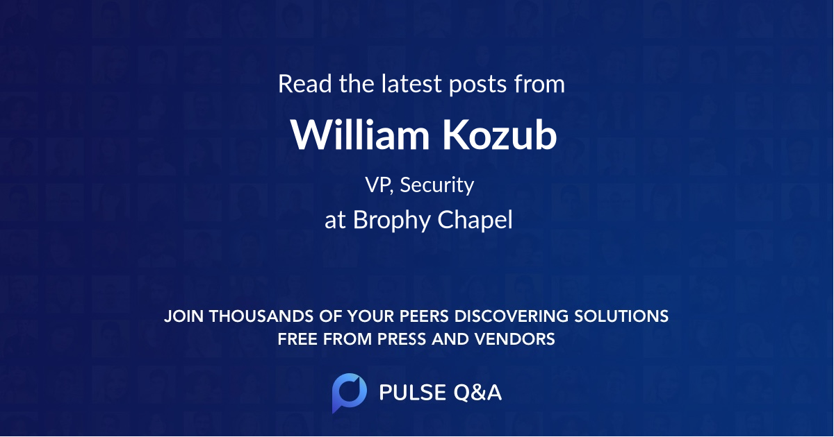 William Kozub