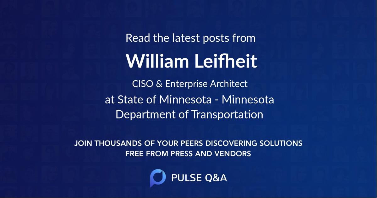William Leifheit