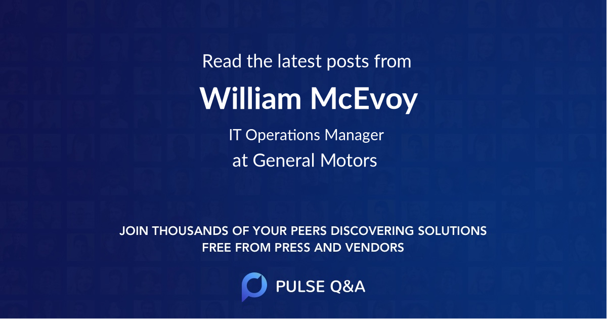 William McEvoy