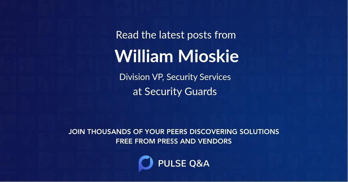 William Mioskie