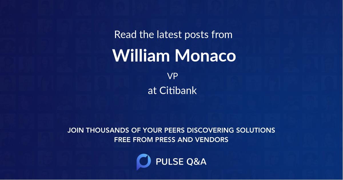 William Monaco