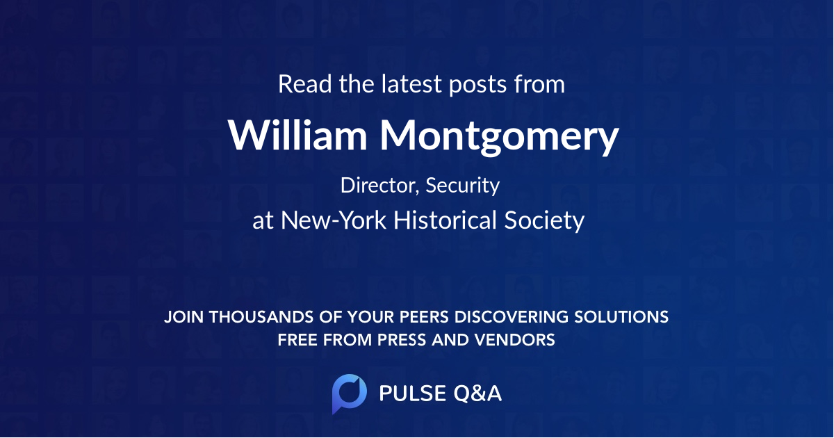 William Montgomery