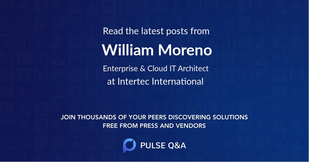 William Moreno