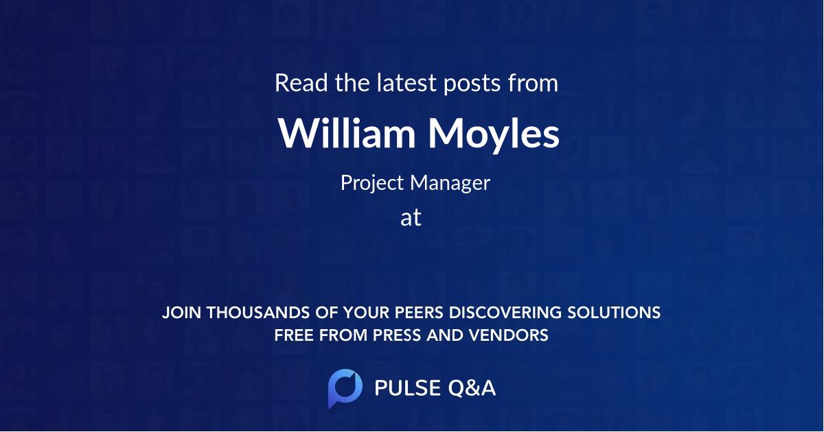 William Moyles