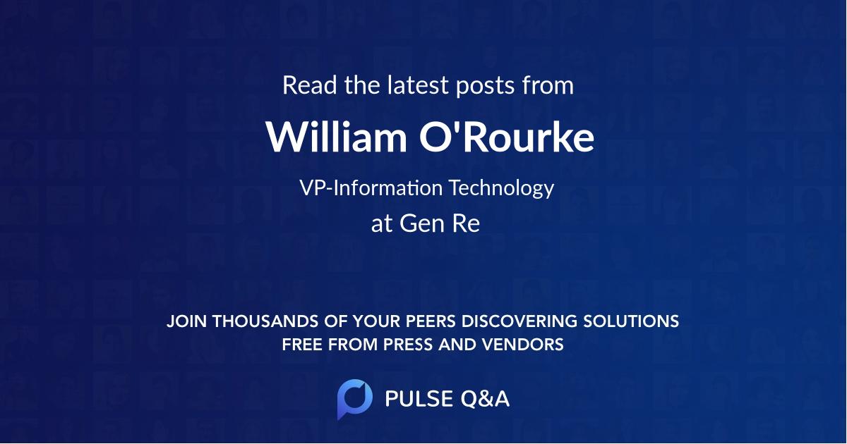 William O'Rourke