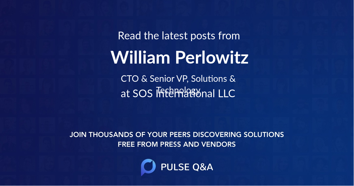 William Perlowitz