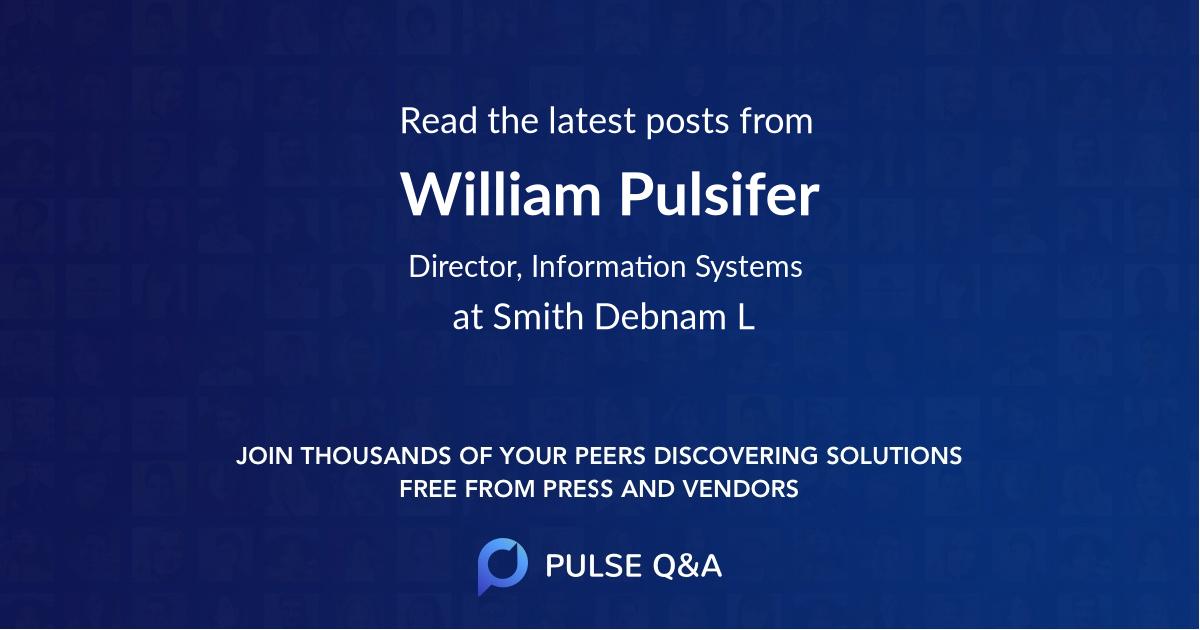 William Pulsifer