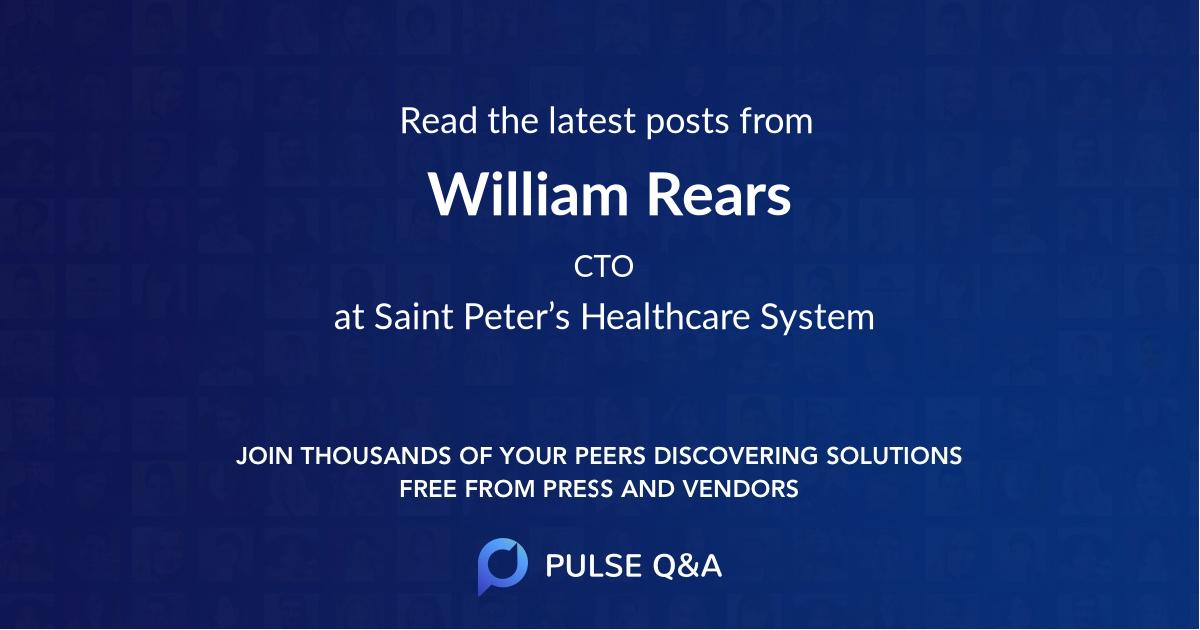 William Rears