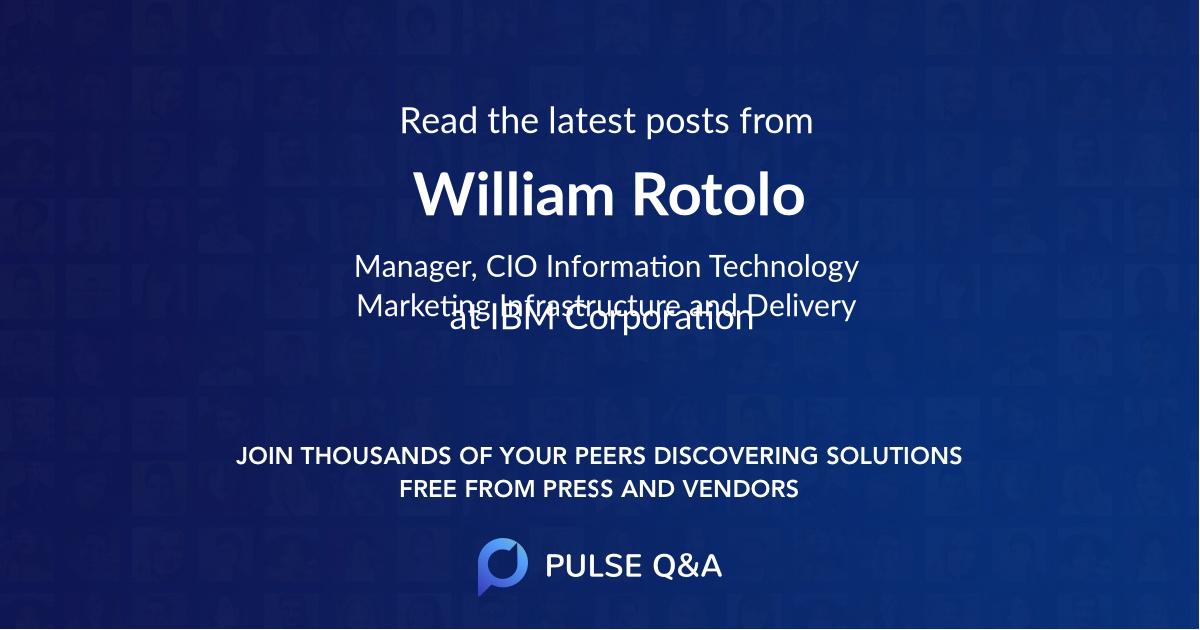 William Rotolo