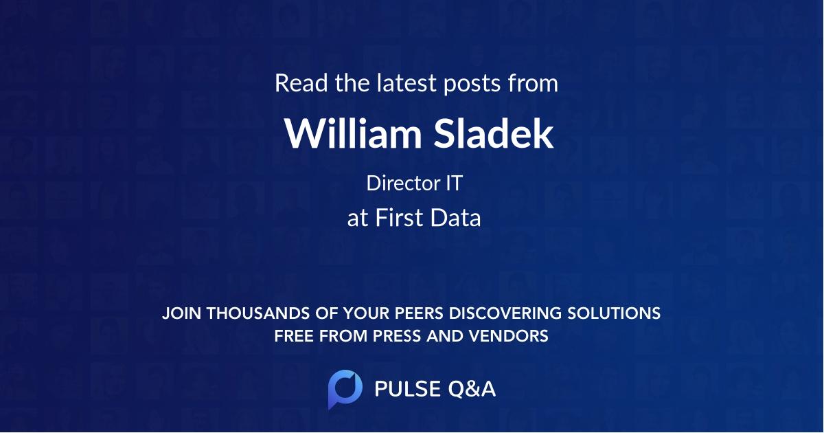 William Sladek