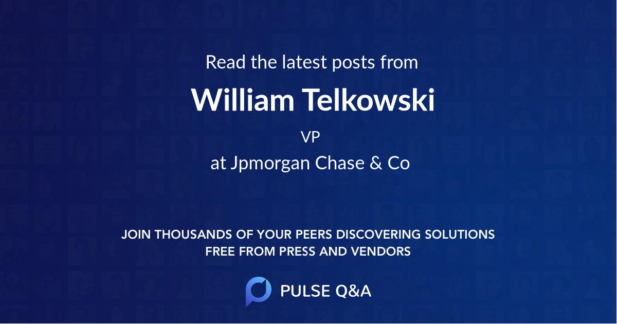 William Telkowski