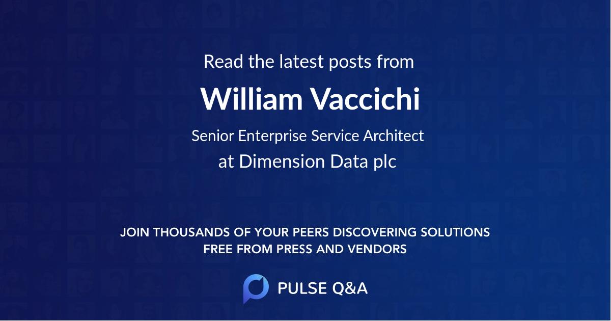 William Vaccichi