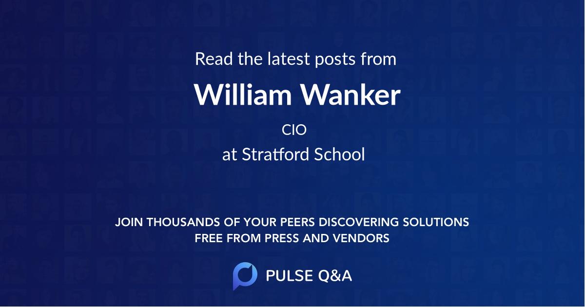 William Wanker
