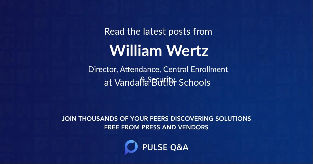 William Wertz