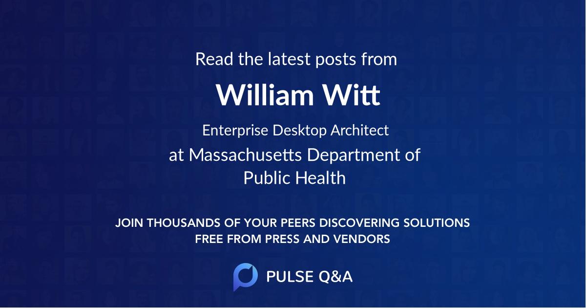 William Witt