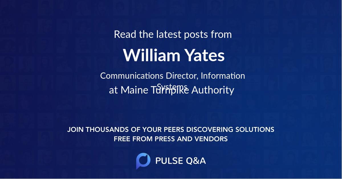 William Yates
