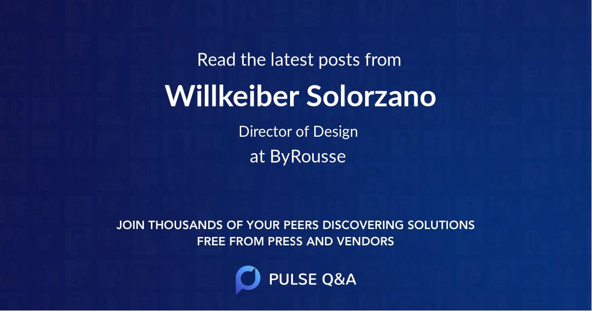 Willkeiber Solorzano