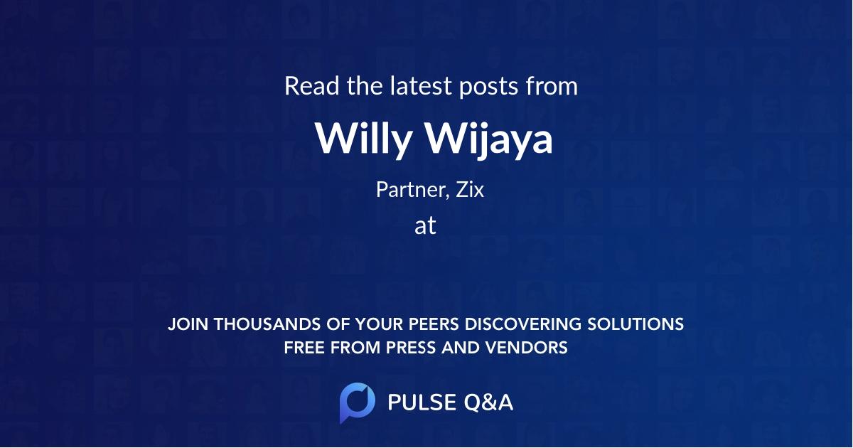 Willy Wijaya