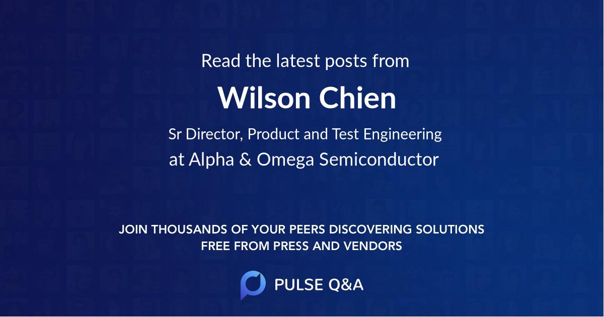 Wilson Chien