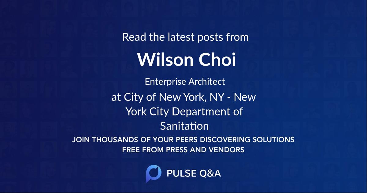 Wilson Choi