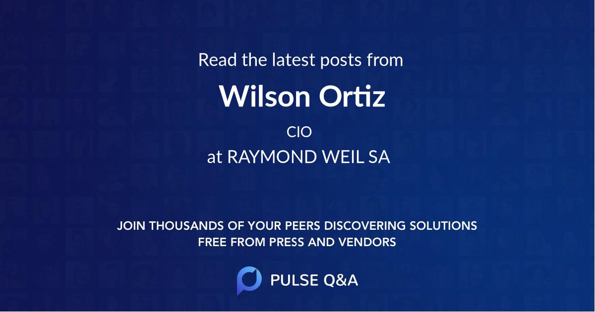 Wilson Ortiz