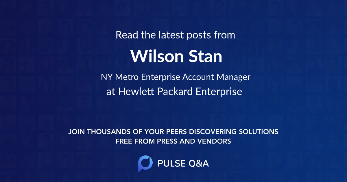 Wilson Stan