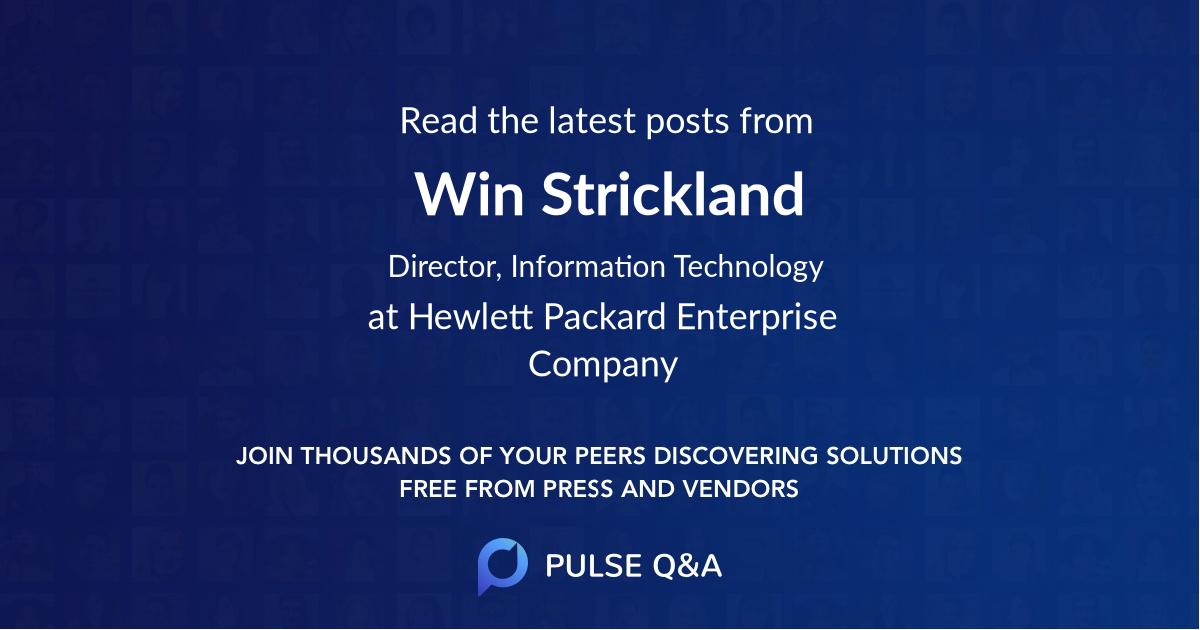 Win Strickland