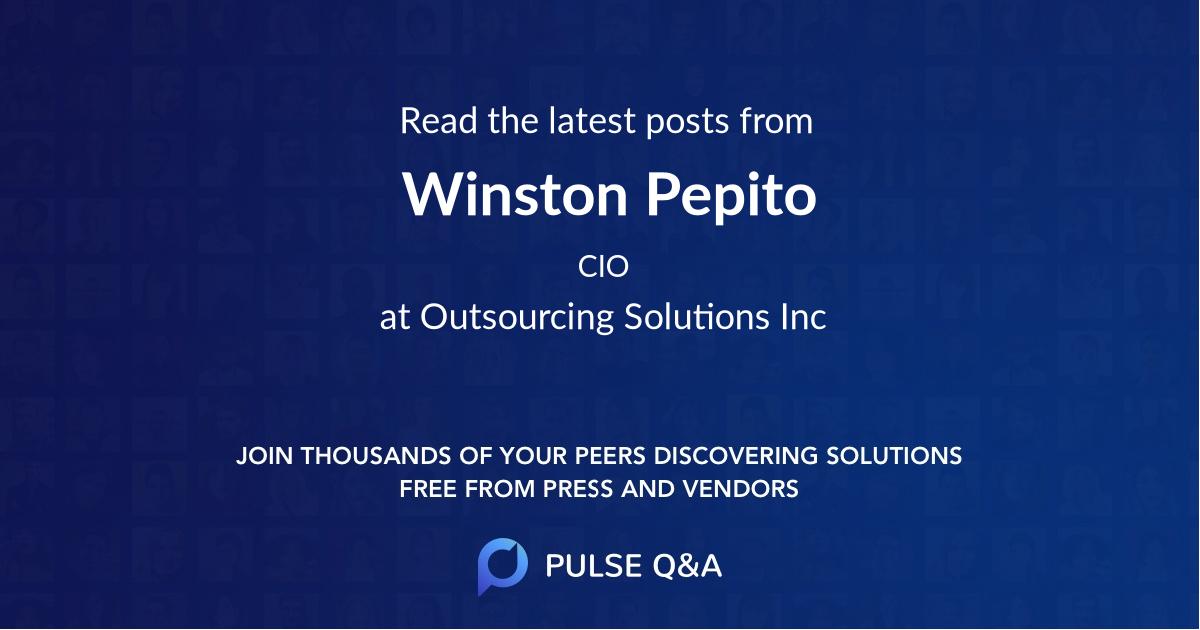 Winston Pepito