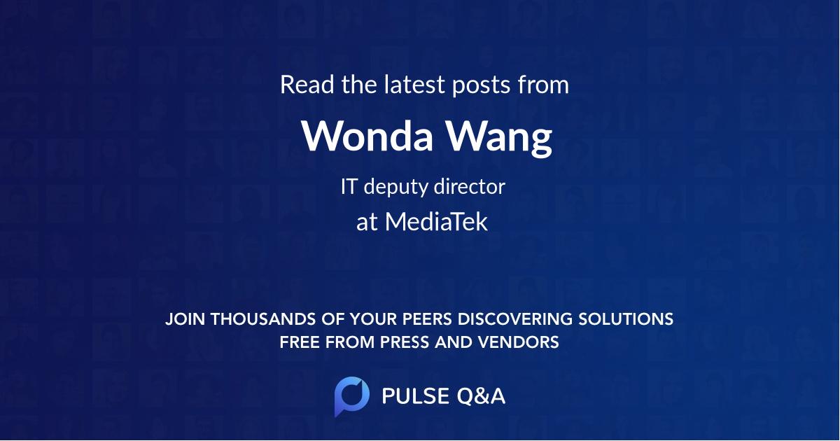 Wonda Wang